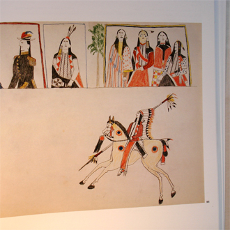PLAINS INDIAN DRAWINGS 1865-1935